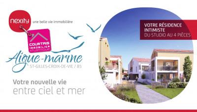 Duplex T3 - 66,77m² - St Gilles Croix de Vie