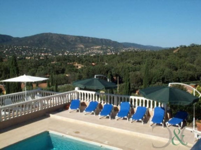 Bormes les Mimosas villa for sale with four apartments and p