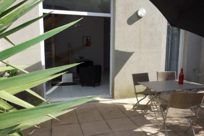 Nimes - mas carbonnel - p2 51 m² duplex avec jardin et parking