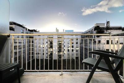 Studio avec balcon LEVALLOIS PERRET - 1 pièce (s) - 19.31 m²