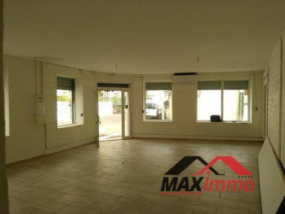 Commercial st denis - 110 m²