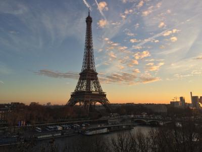 Vue Tour Eiffel pour cet appartement au dernier étage