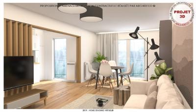 Appartement Villeurbanne 4 pièce(s)
