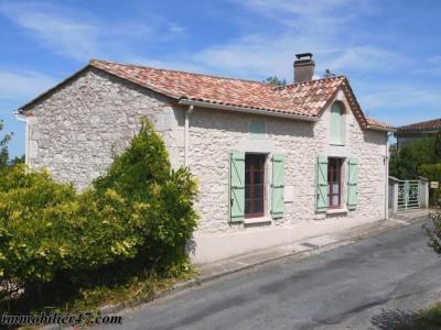 Maison de village prayssas - 3 pièce (s) - 85 m²
