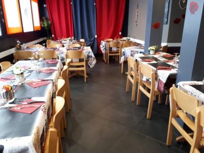 Restaurant pizzéria et sa magnifique terrasse