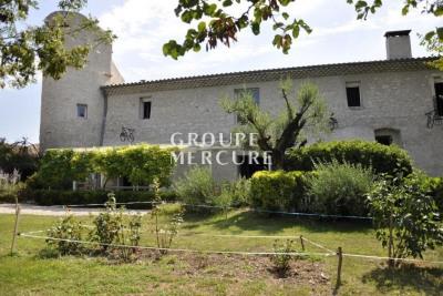 Drome - montelimar - bastide xviio s rénovée - 430 m² - parc