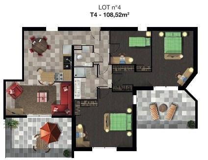 Sale apartment Saint alban leysse 426400€ - Picture 3