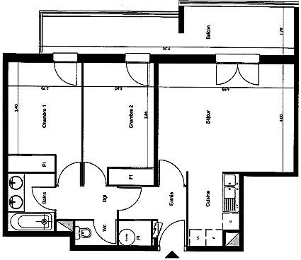 Location appartement Toulouse 686€ CC - Photo 2