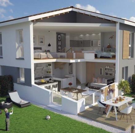 Vente maison / villa Jons 230000€ - Photo 1