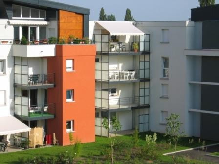 Rental apartment Kingersheim 540€ CC - Picture 1