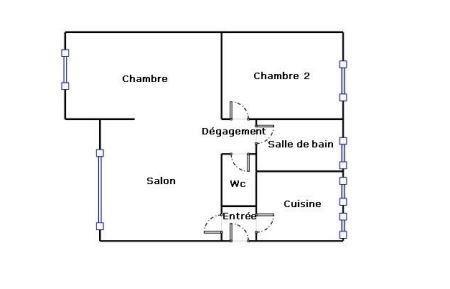 Revenda apartamento Viry chatillon 129000€ - Fotografia 5