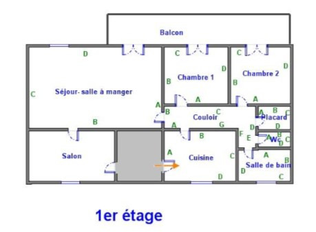 Venta  apartamento Seillans 182000€ - Fotografía 3
