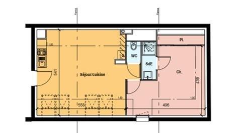 Vente appartement Tours 174065€ - Photo 2