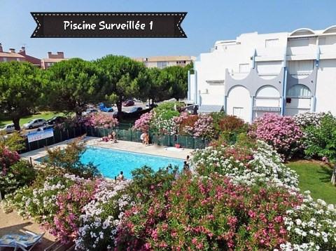 Location vacances appartement Le grau du roi 310€ - Photo 1