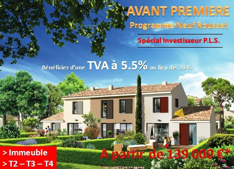 Investment property apartment Rousset 139 536€ - Picture 1