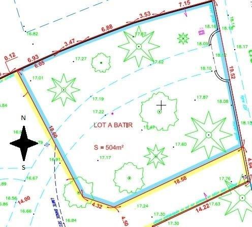Vente terrain Vertou 228900€ - Photo 2