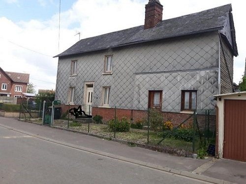 Sale house / villa Beaucamps le vieux 55 000€ - Picture 1