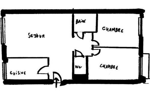 Sale apartment Paris 17ème 550000€ - Picture 3