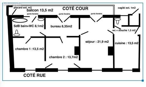 Vente appartement Paris 20ème 750000€ - Photo 7