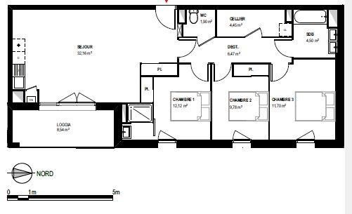 Vente appartement Toulouse 265000€ - Photo 2