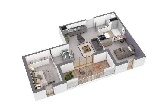 Produit d'investissement appartement Ajaccio 214700€ - Photo 1