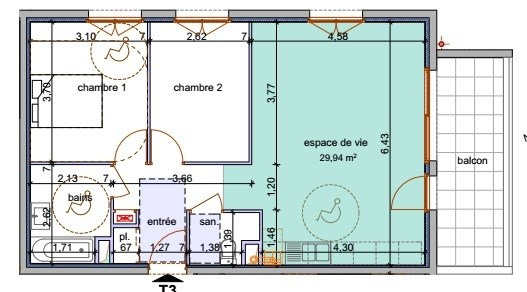 Vente de prestige appartement Annemasse 253 400€ - Photo 2
