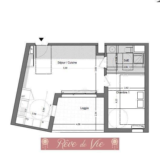 Vente appartement Le lavandou 225000€ - Photo 2