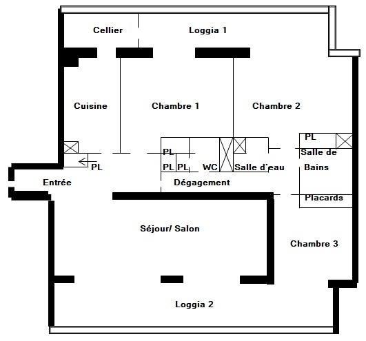 Immobile residenziali di prestigio appartamento Paris 18ème 1052500€ - Fotografia 3
