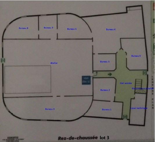 Vente bureau Toulouse 1134000€ - Photo 8