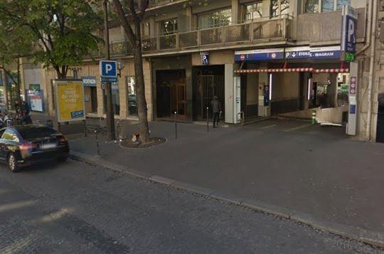 Sale parking spaces Paris 8ème 32000€ - Picture 1