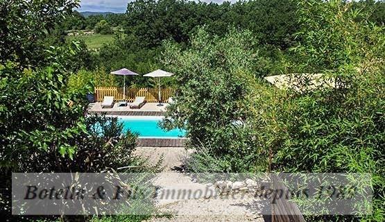 Vente de prestige maison / villa Barjac 899000€ - Photo 6