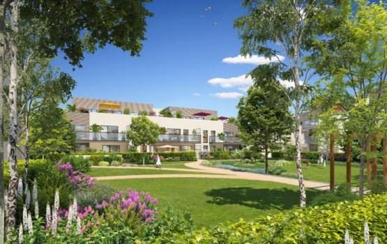 Sale apartment Charbonnieres les bains 543000€ - Picture 1