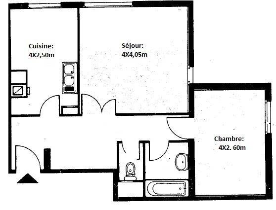 Vente appartement Paris 18ème 260000€ - Photo 6