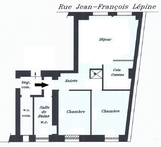 Revenda apartamento Paris 18ème 429000€ - Fotografia 1