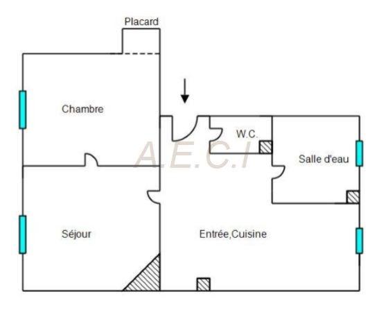 Vente appartement Courbevoie 322000€ - Photo 3