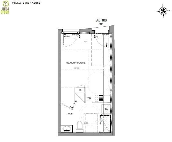 Vente appartement Dinard 110 000€ - Photo 3