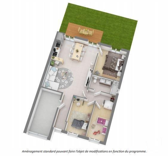 Vente maison / villa Tournefeuille 270900€ - Photo 2