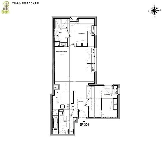 Venta  apartamento Dinard 350000€ - Fotografía 3