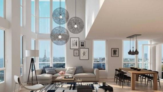 Vente de prestige appartement Paris 15ème 3830000€ - Photo 1
