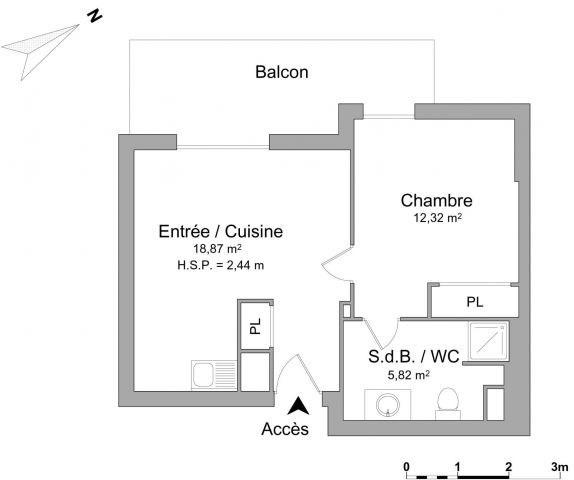 Location appartement Chambéry 524€ CC - Photo 6