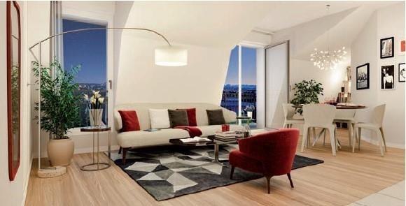 Sale apartment Châtillon 456600€ - Picture 1