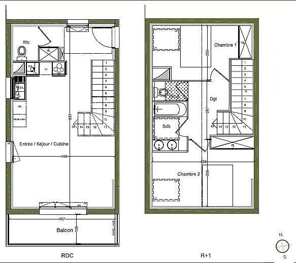 Vente appartement Begles 259000€ - Photo 3