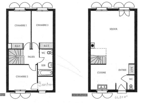 Vente maison / villa Cergy 329000€ - Photo 11