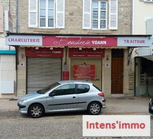 Commercial property sale shop Saint donat sur l'herbasse 56800€ - Picture 1