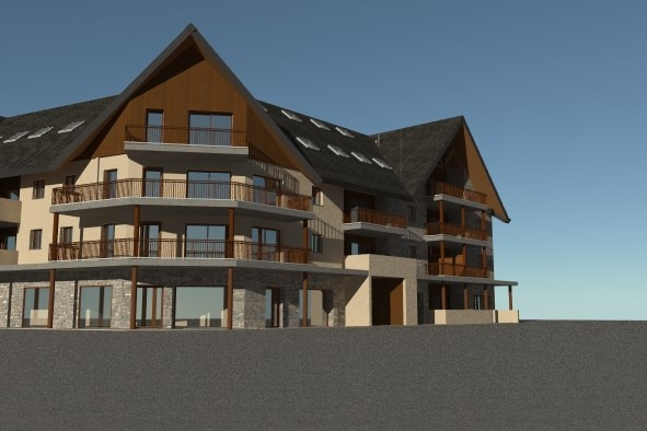 Sale apartment Saint-lary-soulan 308 779€ - Picture 2