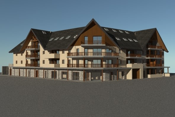Sale apartment Saint-lary-soulan 330 144€ - Picture 1