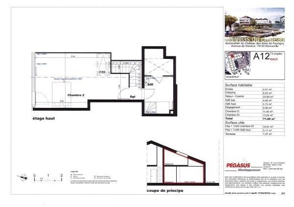Vente appartement Bonneville 262500€ - Photo 5