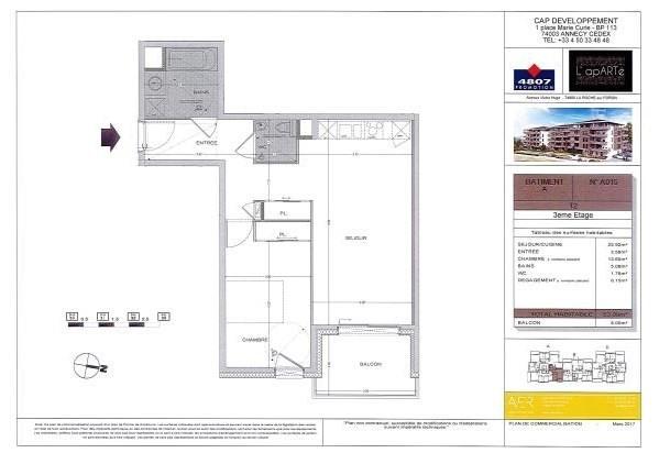 Sale apartment La roche sur foron 198000€ - Picture 2