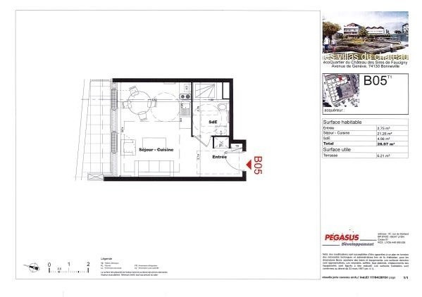 Vente appartement Bonneville 123500€ - Photo 2