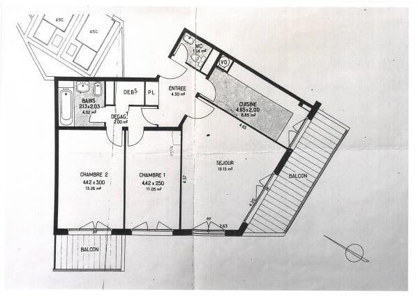 Vendita appartamento Marly le roi 280000€ - Fotografia 3